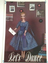 Barbie VTG Postcard Barbie Doll Collector Christmas Gifts Let's Dance Z6 - $11.63