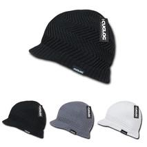 DECKY Cuglog Jeep Cap Winter Beanie Hat w/Small Soft Visor Pattern Elbert K011 - $13.99