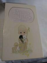 PRECIOUS MOMENTS BIBLE NKJV Keepsake Edition 271V Violet Mist Leatherfle... - $15.83