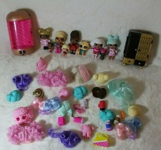 Huge Lot of  LOL Surprise  Dolls Big / Little Sisters / Pets & Accessories - $79.19