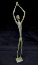 Discus Athlete Hellenistic reenactment great bronze statue - $299.00