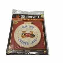 Sunset Stitchery Donne Love-Gather Amour Amy Kozma Kit Broderie 2215 - $20.83