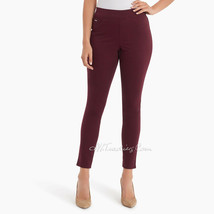 NWT Women's Nine West Jeans Heidi Yoga Stretch Pull On Skinny Pant Red S... - $39.99