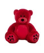 "WOWMAX Red Teddy Bear 36"" Jumbo Stuffed Animal Plush Toy Birthday & Holi... - $35.99"