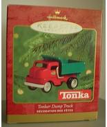 HALLMARK Keepsake ornament TONKA Dump Truck dated 2000 NIB - $13.99