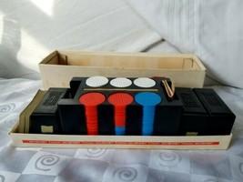 Titleist Golf Ball Poker Chip Set Rack plus KEM Plastic Cards Horses Dia... - $94.95