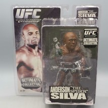 2009 Zuffa Rond 5 UFC Ultimate Collecteur Anderson Silva Action Figurine - $39.93