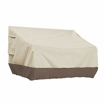 PHI VILLA Patio Bench Cover-Outdoor Loveseat Lounge Cover, Small - $42.41
