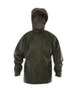 Tingley Rubber Green Weather Tuff 40mm Rain Jacket Small 081138011816 - $57.01