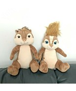 BABW Build A Bear Alvin And The Chipmunks And Brittany Plush Stuffed Ani... - $49.99
