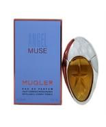 THIERRY MUGLER ANGEL MUSE EAU DE PARFUM SPRAY REFILLABLE COSMIC PEBBLE 3... - $39.11