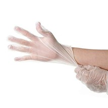 Industrial disposable gloves, plastic PVC material, 100 / box large size - $25.18