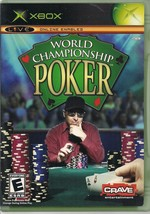 World Championship Poker Microsoft Xbox 2004 Game Case and Manual - $2.79