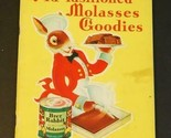 1932 Brer Rabbit Old-Fashioned Molasses Goodies Book Ruth Jordan