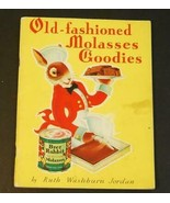 1932 Brer Rabbit Old-Fashioned Molasses Goodies Book Ruth Jordan - $4.94