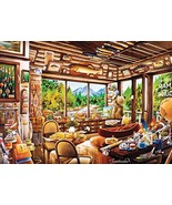 Ceaco 3161-2 Rustic Lodge Fishing Map & Guide Puzzle - 1000Piece - $17.99