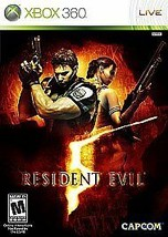 Resident Evil 5 (Microsoft Xbox 360, 2009) Good - Missing Cover - $6.93
