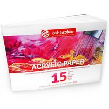 Royal Talens – Art Creation A3 Acrylic Paper – 15 Sheets – 290 gsm – Lan... - $17.46