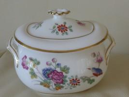 Wedgwood Cuckoo Sugar Bowl with Gold Rim - $99.00