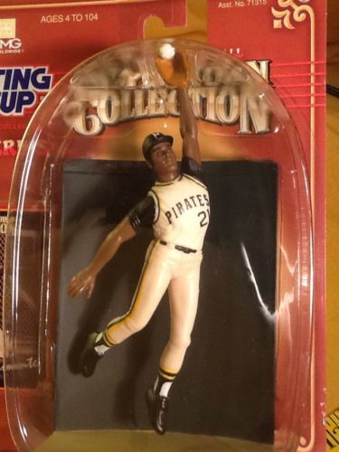 1998 Starting Lineup Cooperstown Collection Roberto Clemente Pirates - Kenner