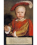 Edward VI, Prince of Wales by Hans Holbein the Younger - Art Print - $19.99+