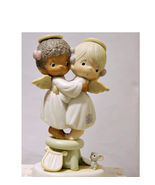 """PRECIOUS MOMENTS """"ANGELS WE HAVE HEARD on HIGH""""  1991 - $20.00"""