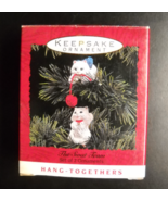 Hallmark Keepsake Christmas Ornament 1993 The Swat Team Set of 2 Ornamen... - $11.99