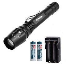 SIPIK SK-006 Adjustable Focus LED Flashlight Torch, Super Bright, 5 Ligh... - $514,26 MXN