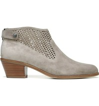 VIA SPIGA Chrissy Black Perforated Ankle Boots  10 - 10.5  New $275 - $77.18