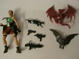 Tomb Raider Lara Croft Action Figure Toy Biz Eidos Video Game Superstars... - $10.00
