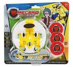 Pasha Mecard Ciclon Mecardimal Turning Car Vehicle Toy Action Figure image 5