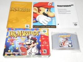 Nintendo64  DR MARIO 64  Overseas ed. TV game with box & Instruction B48 - $439.98