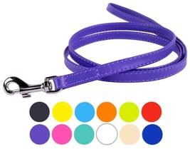 CollarDirect Genuine Leather Dog Leash 4ft, Leather Dog Lead 4ft, Small ... - $24.54