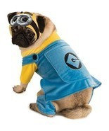 RUBIES DESPICABLE ME 2 MINIONS DOG HALLOWEEN PUPPY ANIMAL COSPLAY COSTUM... - £11.46 GBP
