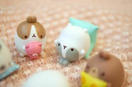 Molang Figures Volume 5 Lazy Sunday Set Miniature Figures Toy Set (5 Counts) image 7