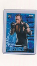 2007 Topps WWE Face Off Undertaker HTF - $4.00