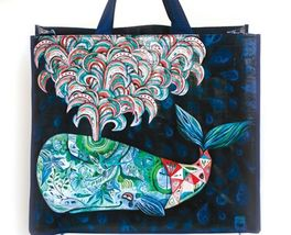 Spouting Whale of a Good Time Shopping Bag 17.75 Inches - £24.64 GBP