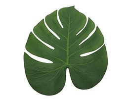 """HapWay 13"""" Tropical Simulation Imitation Green Plant Palm Leaves for Haw... - $12.54"""