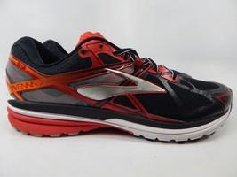 Brooks Ravenna 7 Size 12 M (D) EU 46 Men's Running Shoes Black Red 1102171D062