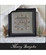 Merry Sampler christmas cross stitch chart Nikys Creations  - $12.60