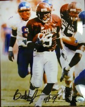Bethel Johnson signed Texas A&M Aggies 8x10 Photo - $15.00