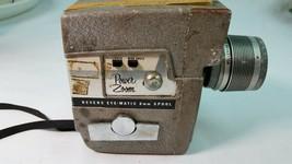 Vintage Revere Power Zoom 8mm Camera With Wollensak Raptar Zoom f1.8 - $100.98