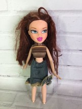 2001 MGA Bratz Meygan Doll With Outfit Auburn Red Hair Blue Eyes Missing... - $31.67