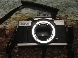 Vintage Minolta XG-M Chrome 35mm Camera Body Only Photography - $21.78