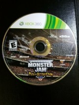 Microsoft Xbox 360 Disc Only Tested Monster Jam Path of Destruction Ships Fast - $18.77