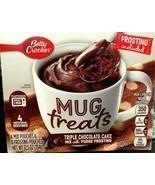 Betty Crocker Mug Treats Triple Chocolate Cake 12.5oz (4-pack) - $53.20
