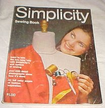 Simplicity Sewing Book [Paperback] [Jan 01, 1970] Simplicity - $1.99