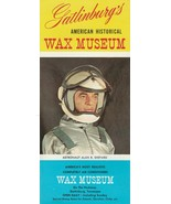 Vintage Travel Brochure American Historical Wax Museum Gatlinburg Tennessee - $12.86