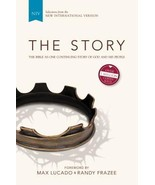 NIV, the Story, Hardcover: The Bible as One Continuing Story of God and... - $4.00