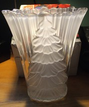 Mikasa Frosted Vase - New In Box - Germany - $39.95